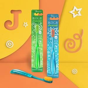 Яркая летняя новинка для детей от 6 до 12 лет – зубная щётка R.O.C.S. Junior